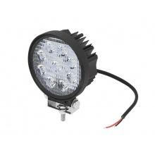 Světlo na pracovní stroje LED BLOW 10V/30V 27W kulaté