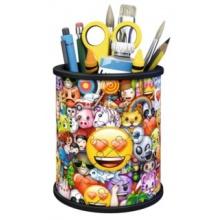RAVENSBURGER 3D puzzle stojan: Emoji 54 dílků