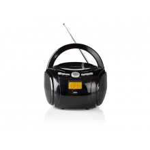 Rádio FM / USB / CD / BLUETOOTH NEDIS SPBB100BK BLACK