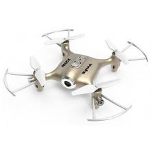 Syma X21W - mini dron s barometrem a WIFI kamerou - zlatý