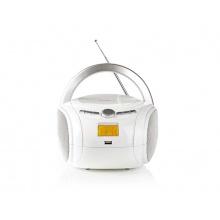 Rádio FM / USB / CD / BLUETOOTH NEDIS SPBB100WT WHITE