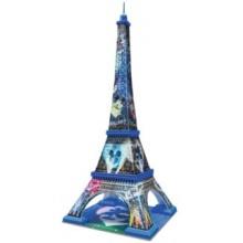 RAVENSBURGER 3D puzzle Eiffelova věž (Mickey&Minnie) 216 dílků