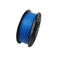 Tisková struna (filament) GEMBIRD, PLA, 1,75mm, 1kg, luminiscenční modrá