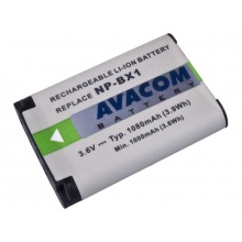 Sony NP-BX1 Li-Ion 3.6V 1080mAh 3.9Wh