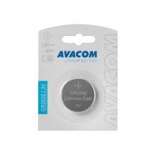 Nenabíjecí knoflíková baterie CR2032 AVACOM Lithium 1ks Blistr