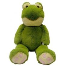 MAC TOYS Plyšová žába - zelená 100 cm