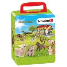 SCHLEICH Sběratelský kufřík Farm World
