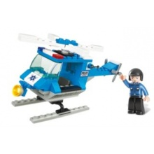 Stavebnice SLUBAN Policejní helikoptéra