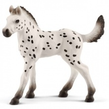 SCHLEICH Knabstrupský kůň - hříbě (světlé)