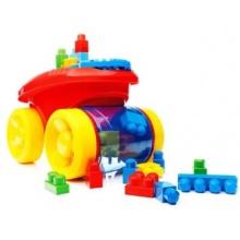 MEGA BLOKS First Builders Zábavný sběrač kostek (červený)