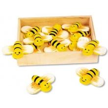 Small Foot Dětské dekorace dekorační včely 12 ks
