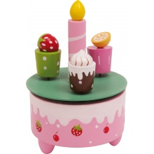 Small Foot Hrací skříňka narozeninové dobroty