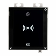 ATEUS-9160335-S 2N Access Unit 2.0 Bluetooth a RFID, IP čtečka 125 kHz, secured 13,56 MHz, NFC, bez rámečku