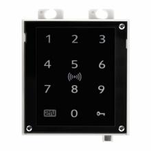 ATEUS-9160336 2N Access Unit 2.0 Touch keypad a RFID, IP čtečka 125 kHz, 13,56 MHz, NFC, bez rámečku