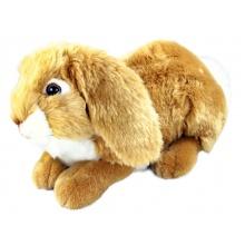 plyšový králík ležící, 30 cm (od 0 let)