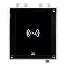ATEUS-9160334 2N Access Unit 2.0 RFID, IP čtečka 125 kHz, 13,56 MHz, NFC, bez rámečku