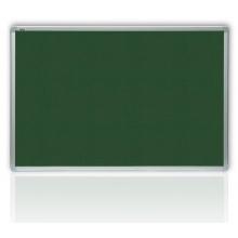 Filcová zelená tabule v hliníkovém rámu 60 x 90 cm