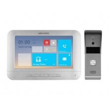 DS-KIS203, kit videotelefonu DS-KH2220 a dveřní stanice DS-KB2421-IM, analog. 4-drát, Hikvision