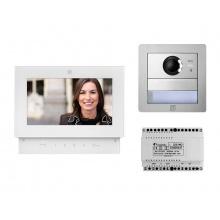 SE4252ABW, sada videotelefonu SETTE a dveřní stanice ALBA pro 1 uživatele, systém DUO, ACI Farfisa