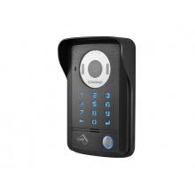 DRC-41DK, 1-tlačítková kamerová jednotka s kódovací klávesnicí, 2 vstupy, RFID čtečka Mifare, Commax