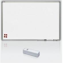 Magnetická tabule, keramický matný povrch, hliníkový rám, 120 x 240 cm