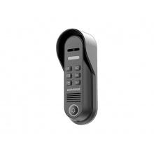 DRC-4CPNK, venkovní 1-tlačítková antivandal dveřní kamerová jednotka, kód. klávesnice, Commax