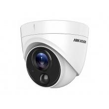 DS-2CE71H0T-PIRL - 5MP Dome kamera TurboHD; EXIR; IP67; PIR čidlo; obj. 2,8mm