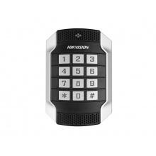 DS-K1104MK - Antivandal bezkontaktní čtečka s klávesnicí Mifare (HIKVISION)