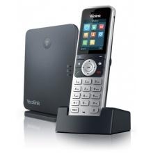 SIP-W53P Yealink - bezdrátový DECT IP telefon s barevným LCD (báze+ručka), POE, 8x SIP, až 8 ruček