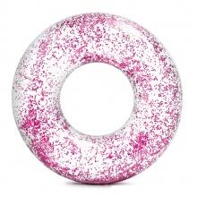 nafukovací kruh flitrový 119 cm, 2 barvy (od 9 let)