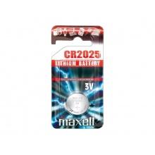 Baterie    CR2025 MAXELL lithiová 1BP