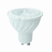 VT-247-192 V-TAC LED žárovka GU10, 6,5W, 230V, 480lm, 3000K teplá bílá, 30 000h, 110°