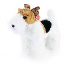 plyšový pes foxterier Dášenka stojící, 30 cm (od 0 let)
