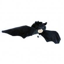 plyšový netopýr černý, 16 cm (od 0 let)