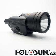 Pistolový laser se svítilnou LS210G - zelený