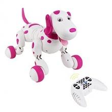 Robo-Dog - Pes na dálkové ovládání - růžová