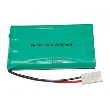 Baterie Ni-MH 2000 mAh 9.6V tamiya