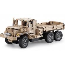 Vojenský vůz - stavebnice na dálkové ovládání