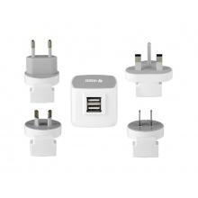 Adaptér cestovní YENKEE YAT 202 USB 3.5A