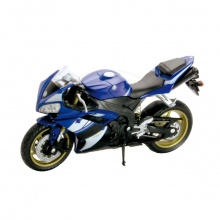 Welly - Motocykl Yamaha YZF-R1 model 1:10 modrý