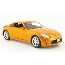 Welly - Nissan Fairlady Z 1:34 oranžový