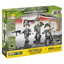 Figurky s doplňky Německá armáda, 3 figurky, 25 k (od 5 let)