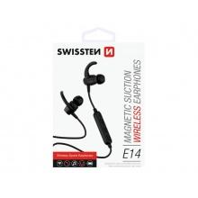 Sluchátka do uší SWISSTEN ACTIVE bluetooth černé