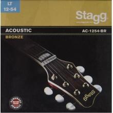 Stagg AC-1254-BR, sada strun