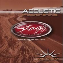 Stagg AC-1356-PH, sada strun pro akustickou kytaru