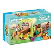PLAYMOBIL Koňský box Lucky & Spirit 9478