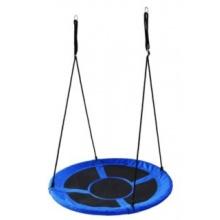 PIXINO Houpací kruh Čapí hnízdo (průměr 100cm) modrý