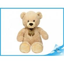 Plyšový medvěd s mašlí 80cm