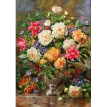 TREFL Puzzle Květiny pro královnu Alžbětu 4000 dílků