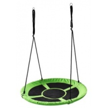 PIXINO Houpací kruh Čapí hnízdo (průměr 100cm) zelený